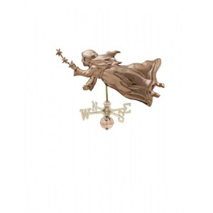 Angel With Stars Copper Weathervane-0