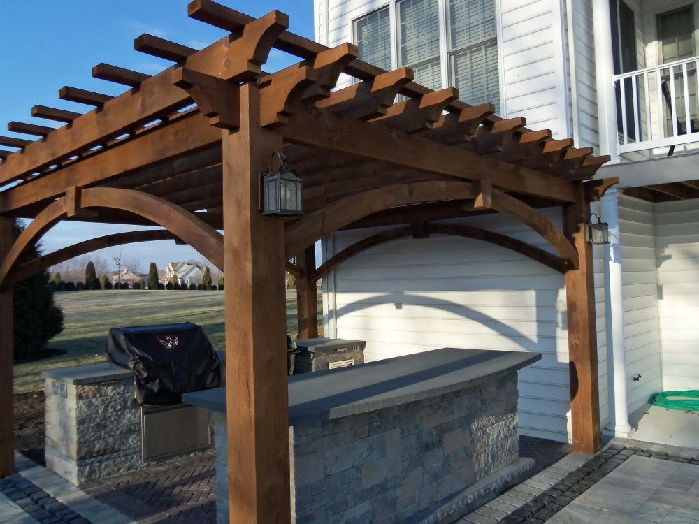 Timber Frame Home Landscaping