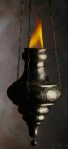 howard-sokol-flame-in-jewish-oil-lamp