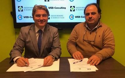 El Colegio de Mediadores de Seguros de Toledo y Web-Consulting suscriben un acuerdo de colaboración