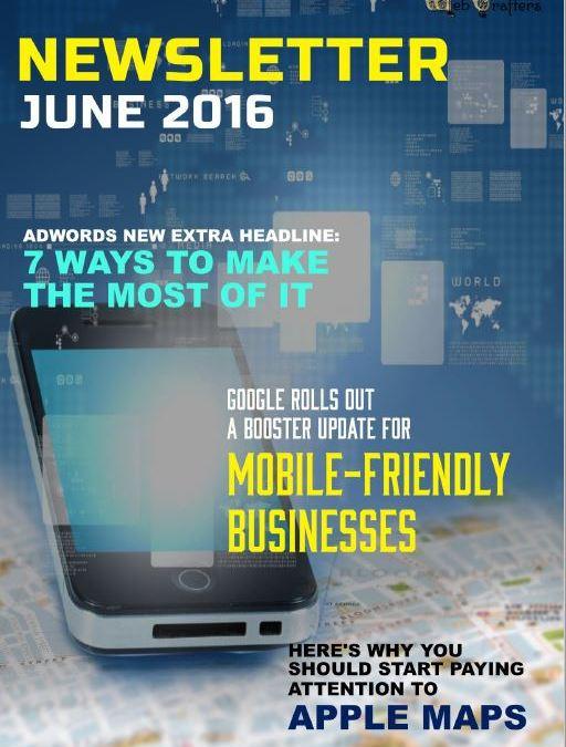 WebCrafters LLC SEO Newsletter June 2016