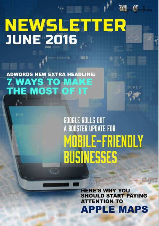WebCrafters LLC SEO Newsletter June 2016
