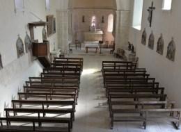 Église de Narcy vue de l'intérieur
