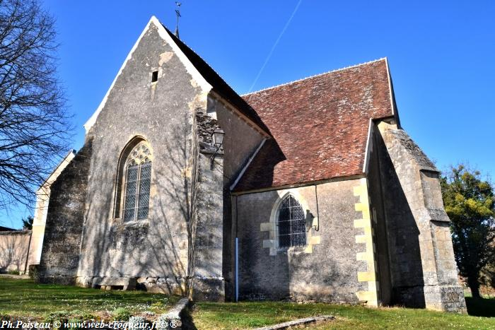 L'église de Sainte Colombe des Bois
