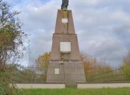 Statue du Sacré Cœur de Varzy Nièvre Passion