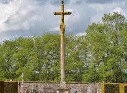 Croix du Cimetière de Dun sur Grandry