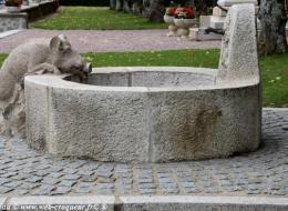 Fontaine du Sanglier de Dun les Places
