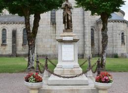 Monument aux morts de Dun les Places
