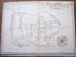 Ancienne carte de Corbigny