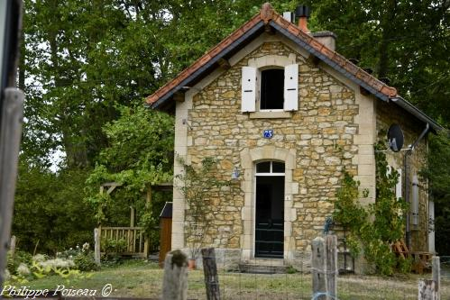 Entrepôt de la gare de Vandenesse Nièvre Passion