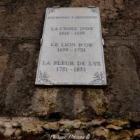 Anciennes Faïenceries de Nevers - Plaque du souvenir
