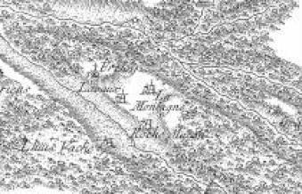 Carte de Cassini Lavault-de-Frétoy