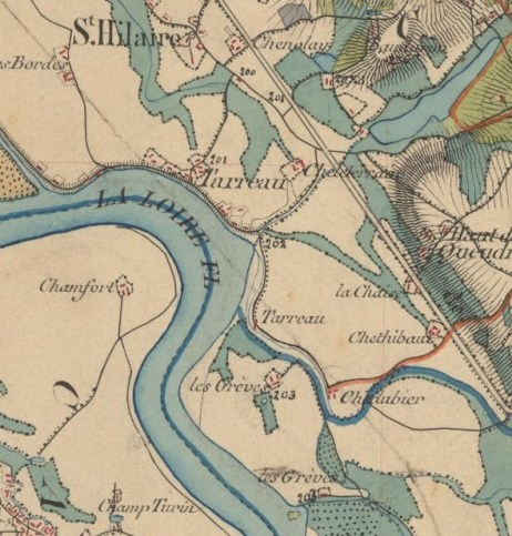 Carte de l'état major 1820 1866