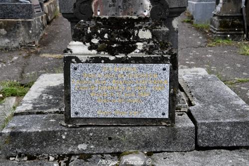 Plaque commémorative Nièvre Passion