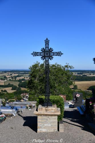 Croix du cimetière de Onlay