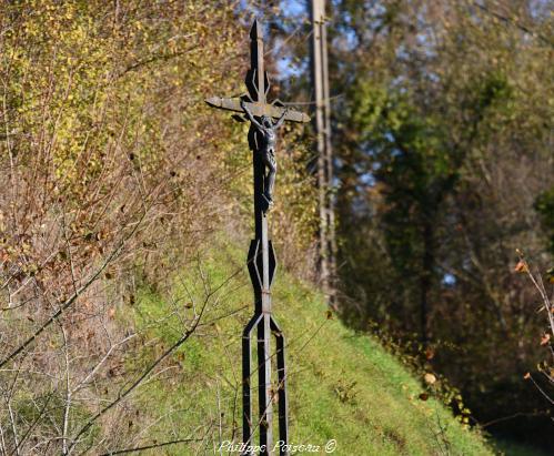 croix en fer forgé