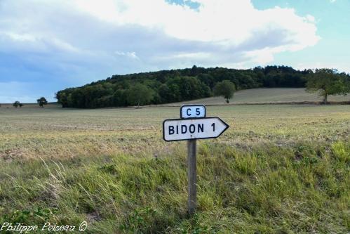 Panneau de Bidon
