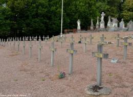 Carré militaire au cimetière de Corbigny