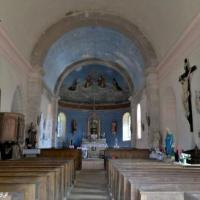 Intérieur de l'église de Saint Germain des Bois - Église