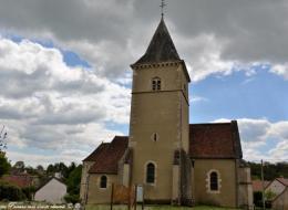 Intérieur de l'église de Oulon