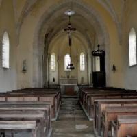 Intérieur de l'église de la Collancelle - Église Saint Sulpice