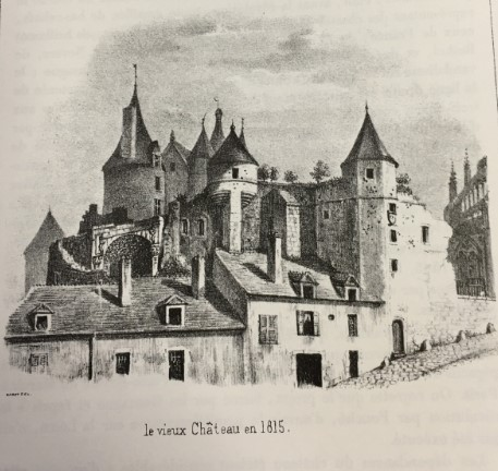 Le château Comtal de Nevers