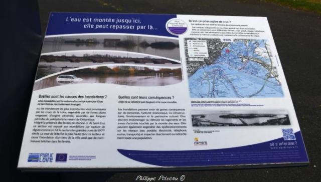 crues de la Loire à Nevers