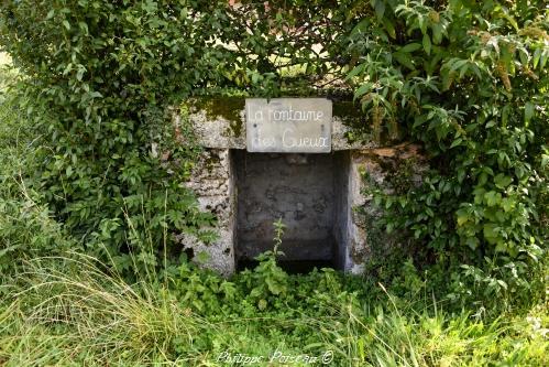 La fontaine des Geux Nièvre Passion
