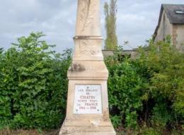Monument de Chatin Nièvre Passion