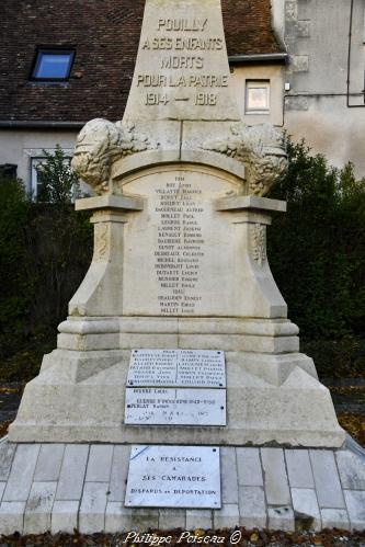 Monument aux morts de Pouilly Sur Loire