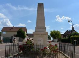 Monument aux morts de Saint Andelain Nièvre Passion