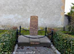 Stèle des anciens combattants de Prémery