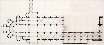 Plan de l'Abbaye de La Charité - Abbaye Notre Dame Nièvre Passion