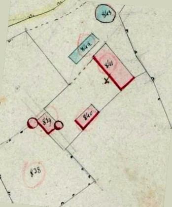 Plan du château de Broin