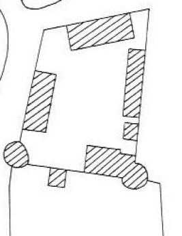 Plan du château de Frasnay les Chanoines