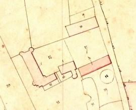 Plan du domaine de Chassy
