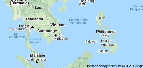 Plan situation du Vietnam