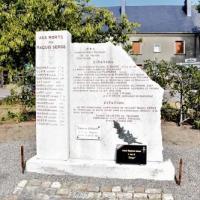 Stèle du Maquis Serge -  Résistants du Nivernais