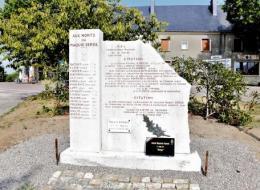 Stèle du Maquis Serge Nièvre Passion