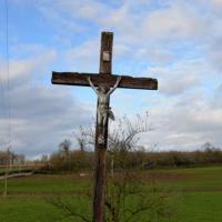 Crucifix du village de Mouches une remarquable Croix