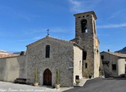 L'église de Saint Sauveur en Diois