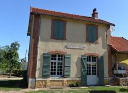 Ancienne gare du tacot à Montigny aux Amognes Nièvre Passion