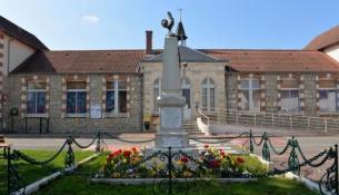 Monument aux morts de Saint Martin Sur Nohain