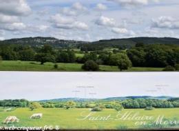 Panorama de Saint Hilaire en Morvan