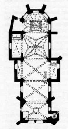 plan église challement