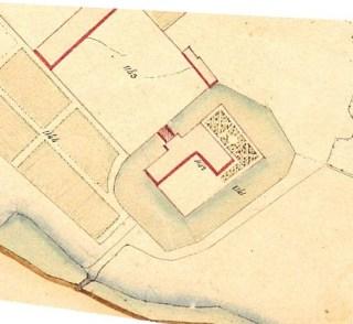 plan du château de Lantilly