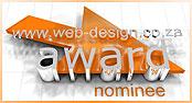 Web Design Award Nominee
