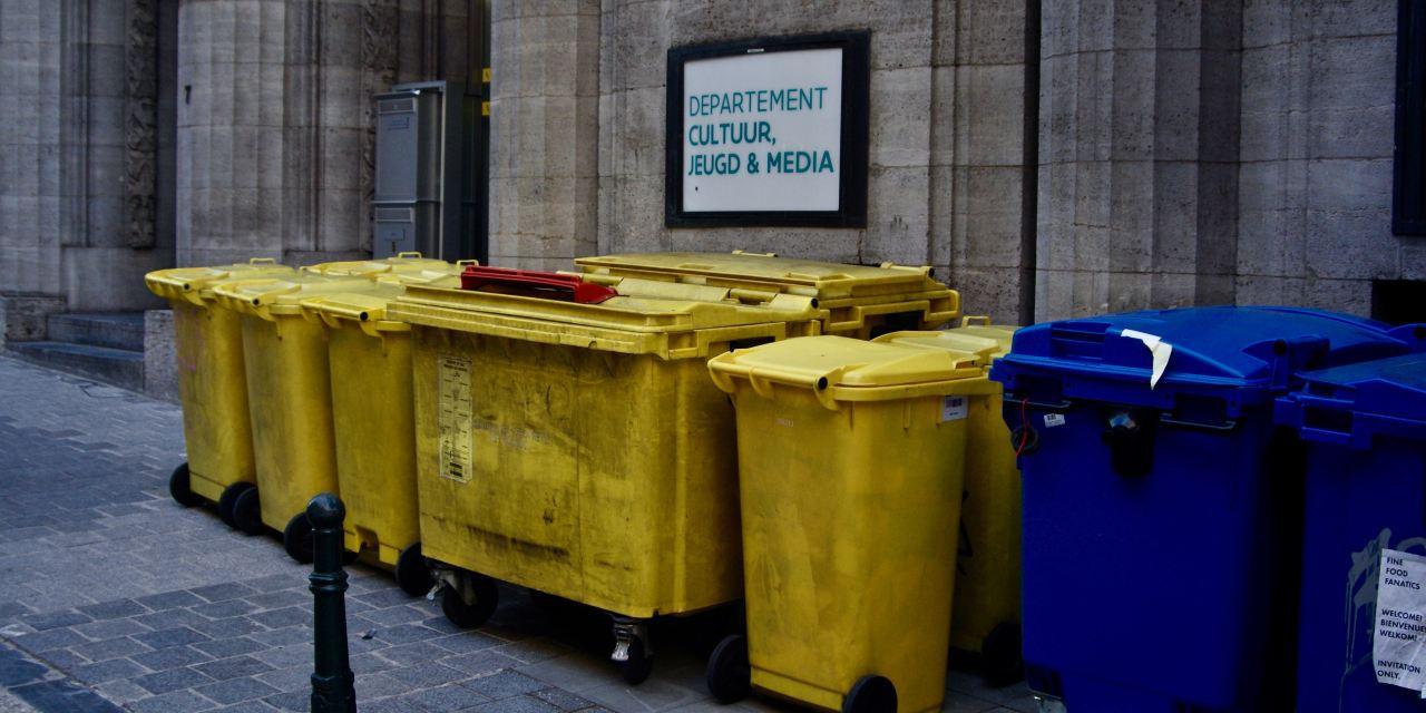 Quelle poubelle de tri sélectif pour le bureau?