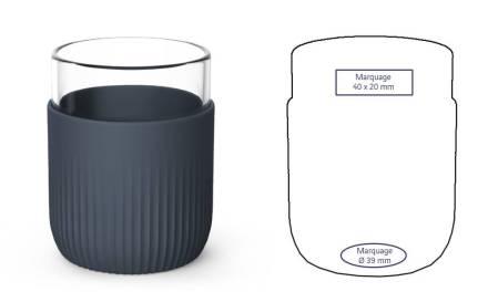 Gobelet design, réutilisable et made in France chez Pimp my Bottle