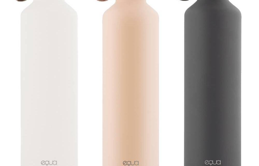 Equa : une bouteille connectée pour une meilleure réhydratation